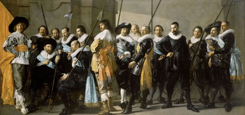 Frans Hals, The Meagre Company, 1637