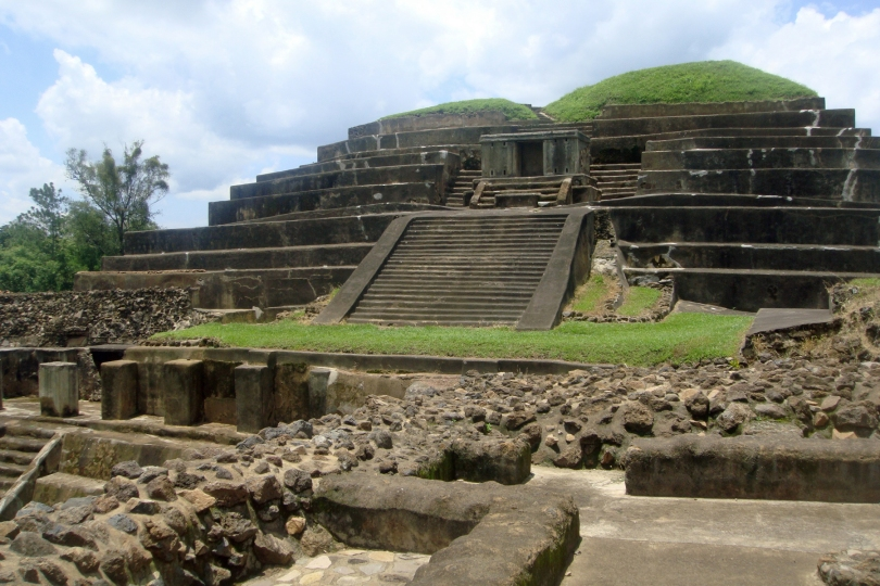 The Tazumal archaeological site in El Salvador.
