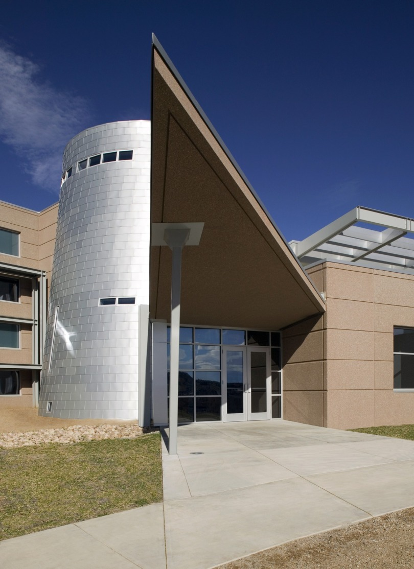 Exterior of a building on the main campus of NREL in Golden, CO.