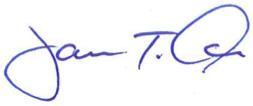 Jim Oris's signature